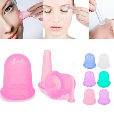 4X Full Body Massager Helper Anti Cellulite Vacuum Care Silicone Cupping Cup FZ