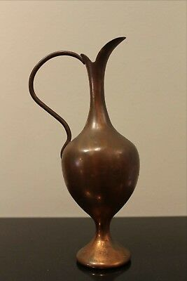 Hand Crafted SOLID COPPER EWER, Made in Gaziantep, Turkey