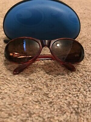 204a8d4df6e Costa Del Mar Vintage Sunglass Frame MP2-10 Japan Glossy Tortoise With Case