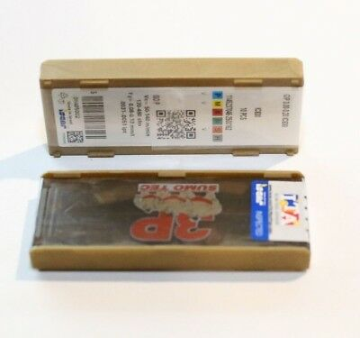 GIP 0.50-0.00 IC808  ISCAR *** 10 INSERTS *** FACTORY PACK ***