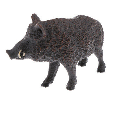 Realistic Wild Boar Animal Model Figurine Action Figures Kids Play Toys