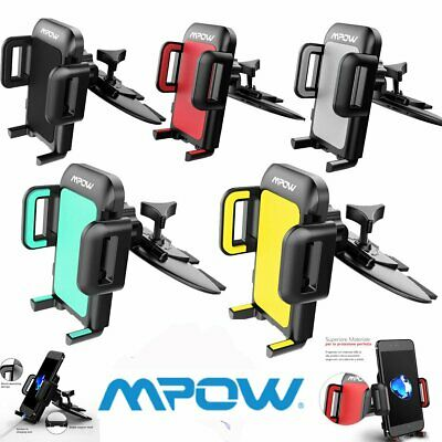 Mpow Universal CD Player Slot Mobile Phone Holders Car Stand GPS Mounts UK Stock