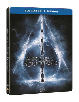 Fantastic Beasts The Crimes Of Grindelwald	Steelbook 3D + 2D Blu Ray