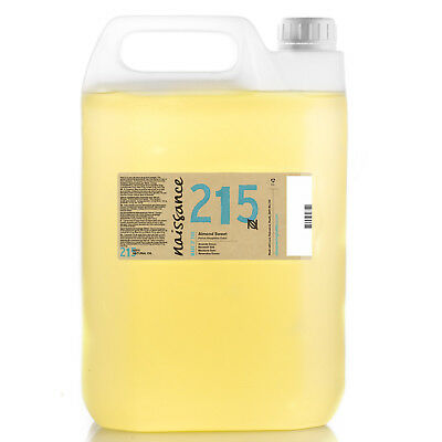 Naissance Almond Sweet Oil 5 Litres Ideal for Massage Wholesale