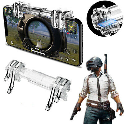 1 Set Gaming Trigger Phone Game PUBG Mobile Controller Gamepad for Android &IOS