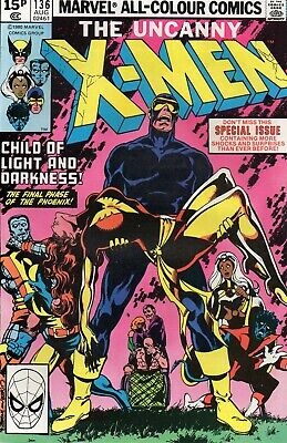 UNCANNY X-MEN #136 Claremont Byrne Marvel Comics 1980 NM/NM-