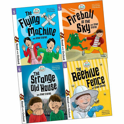 Read with Oxford: Biff, Chip and Kipper 4 Book Collection (Stage 5) Flying Machi