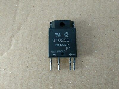 3pcs S102S01 solid state relay 8A 125V new