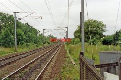 Photo  Arksey Railway Station West Riding Site 1992 Gnr Main Between Doncaster A