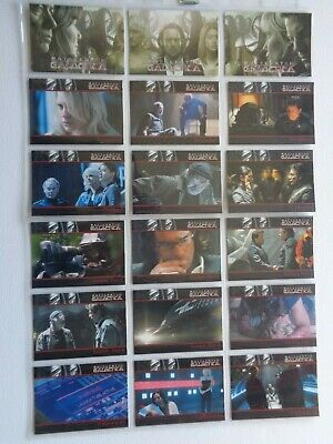 The Complete Battlestar Galactica Complete Base Set Of 72 Trading Cards Classic