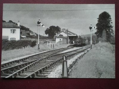 Postcard Gwr Loco No 1466 At Buckfastleigh 6/9/58