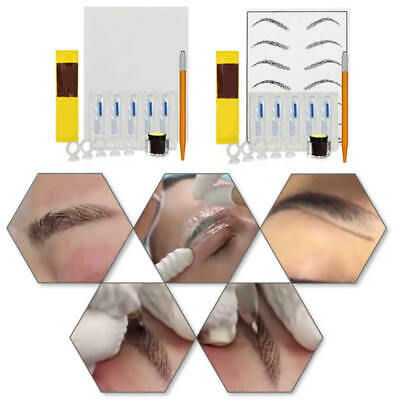 Microblading Permanent Makeup Eyebrow Tattoo Needle Pen Needles Kit/set