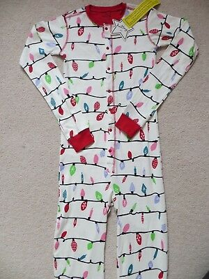 BNWT Girls Hatley Northern Lights Bedtime One Piece Sleepsuit Age 12 yrs
