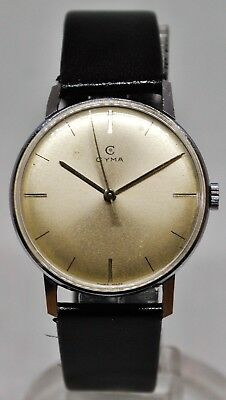 Vintage CYMA manual wind gents dress watch