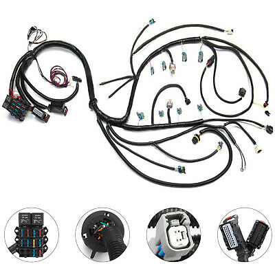 Get 97 02 Dbc 4 8 5 3 6 0 Standalone Wiring Harness With T56non