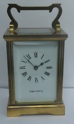 Nice Vintage Mappin & Webb 8-Day Carriage Clock C/w Key
