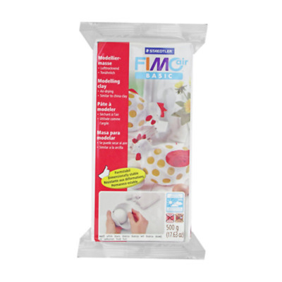 Fimo Air Drying Modelling Clay China Jewellery Art Fun Craft 500g White