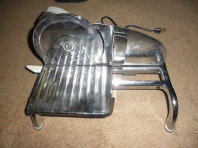 Vintage Rival Electric Food Slicer Metal Deli Meat Kitchen Saw