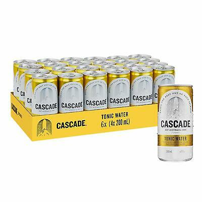 Cascade Tonic Water Citrus Flavor Multipack Mini Cans 24 x 200 mL NEW CHEAPEST