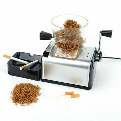 Automatic Electric Tobacco Cigarette Rolling Roller Injector Maker Machine 110V