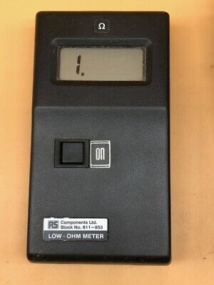 RS Components Low Ohm Meter