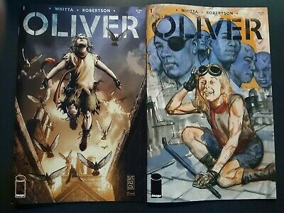 OLIVER #1 Robertson A + Fabry B Cover Variant Set Image Comic Book 2019 NM HOT