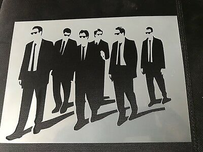 Airbrush Stencil Resevoir Dogs