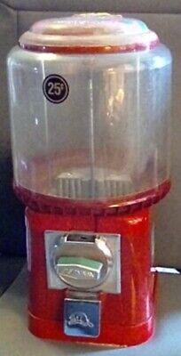 """Round Barrel Tabletop Gumball Machine by """"Beaver Machine Co."""