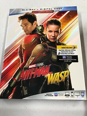 ANT-MAN AND THE WASP  Blu-ray + Digital 2018 Sealed Slipcover New