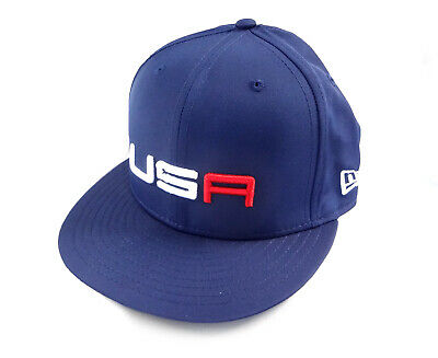 015cc439915 NEW 2018 New Era 59Fifty USA Ryder Cup Saturday Round Fitted Flatbill 7 1 4