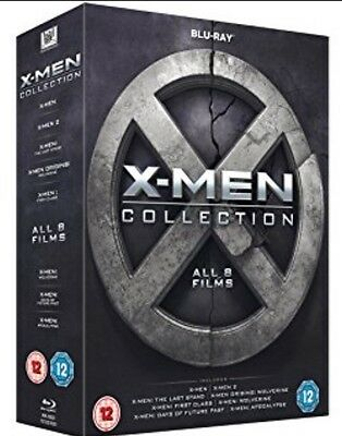 X-Men Collection Blu-Ray Box Set All 8 Films Including Apocalypse 3D