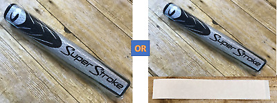 """⛳NEW⛳ SuperStroke LEGACY FATSO 5.0 PUTTER GRIP .580"""" WHITE/BLACK or SILVER/BLACK"""