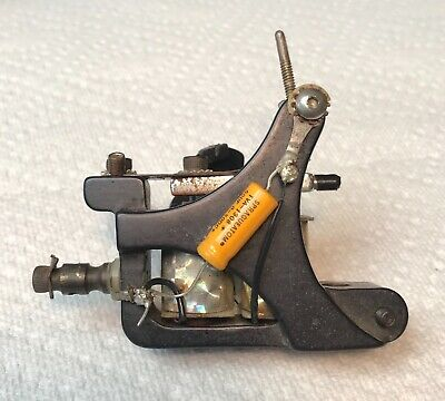vintage black beauty tattoo machine