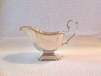 International Silver Co. Vintage Chadwick 1513 Silver Plate Sauce Gravy Boat