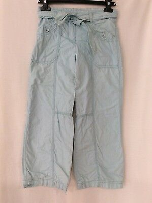 Girls Cherokee Light Blue Cotton Trousers, Age 6-7