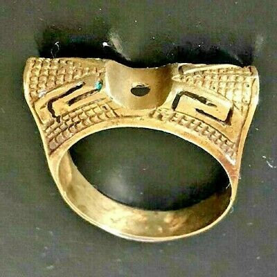 EXTREMELY RARE Ancient RING BRONZE RING artifact VERY Stunning