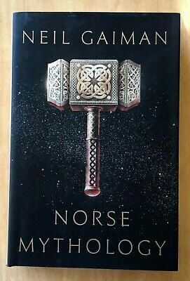 Norse Mythology by Neil Gaiman 2017 HC DJ