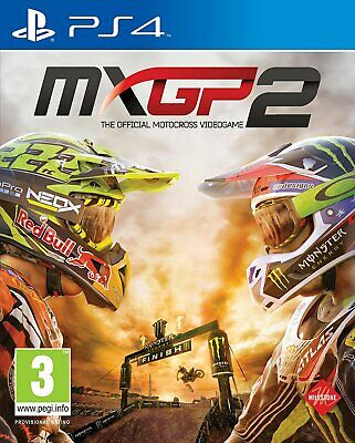 NEW & SEALED! MXGP2 The Official Motocross Videogame Sony Playstation 4 PS4 Game