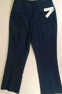 41a20e4eef NWT Women s WESTBOUND The PARK AVE Fit CLASSIC Leg Slimming Jean Pants Size  ...