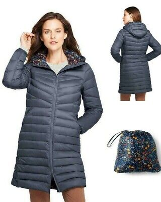 Discover save up to 80% cute cheap $159 NWT LANDS End Womens Ultralight Packable Long Down Coat - Reg, Petite,  Tall