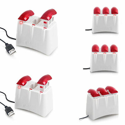 3-Port Charger for Syma X5UW Quad Drone 3X 3.7V 500mAh Lipo Battery CA