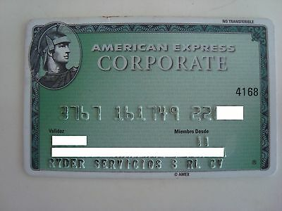 Mexico - American Express - Expired - Credit Card - Corporate