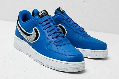 BNWB NIKE AIR Force 1 '07 LV8 Game Royal Blue Trainers Sz 14