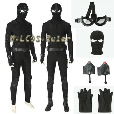 Popular Spiderman far from home Stealth suit Cosplay Costume Halloween full suit