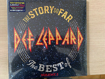 """DEF LEPPARD """"The story so far-The Best Of Volume 2"""" Record Store Day exclusive"""