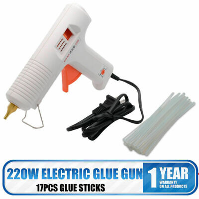 HIGH POWER 220W Hot Melt Glue Gun Industrial Mini Guns Electric Glue