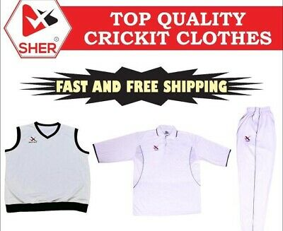 new men cricket shirt whites tops and trusses bottom cricket clothing