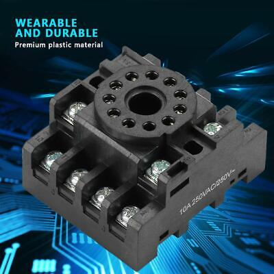 PF113A 11 Pins Power Relay Base Socket for JQX-10F JTX-2C Time Relay