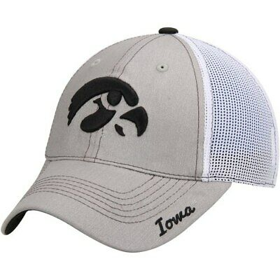 cheap for discount b423f 24f5a Top of the World Iowa Hawkeyes Women s Gray Glamour Trucker Adjustable Hat
