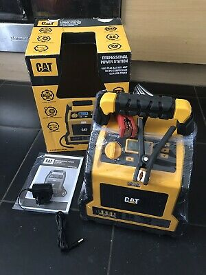 CAT 3 in 1 Professional Power Station With Jump Starter & Compressor CJ1000DCPUK